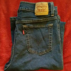 Levi's 512 Fit Perfectly Slimming Staight Jeans